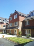 Redland Duo-plain tiles - Main Roof  Redland Clay tiles classic red - Tile Hang