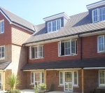 Redland Duo-plain tiles - porch Roof 