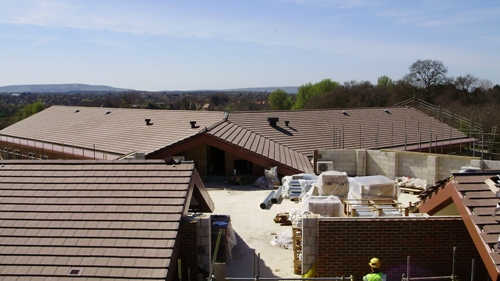 Hellingly Integrated Health Roof